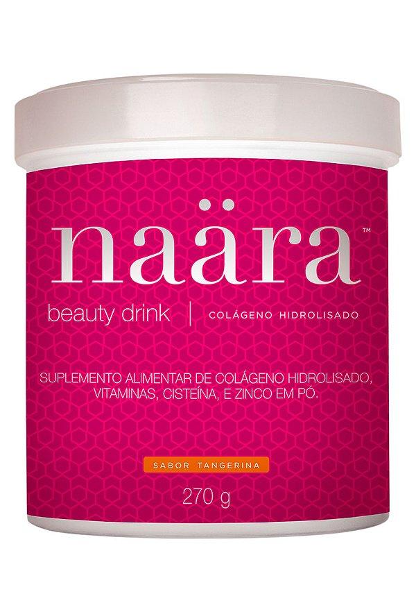 Naara Beauty Drink - Colágeno Hidrolisado Sabor Tangerina - 270grs.
