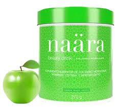 Naara Beauty Drink - Colágeno Hidrolisado Sabor Maça Verde - 270grs.