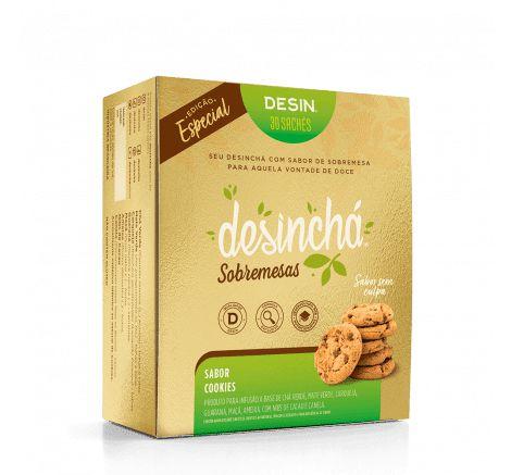 Desinchá Sobremesas - Sabor Cookies - 30 sachês - Edição Especial