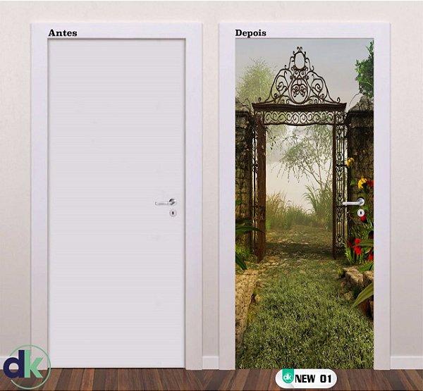 Adesivo decorativo de Porta Arco New 01