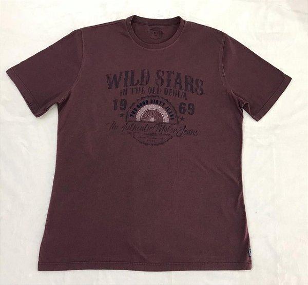 Camiseta Manga Curta Estampada Highstil WILD STARS