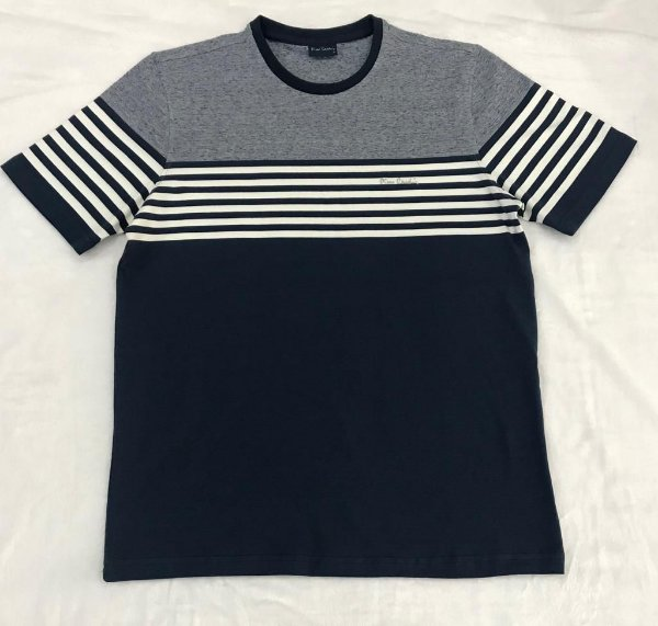 Camiseta Manga Curta Pierre Cardin Listras