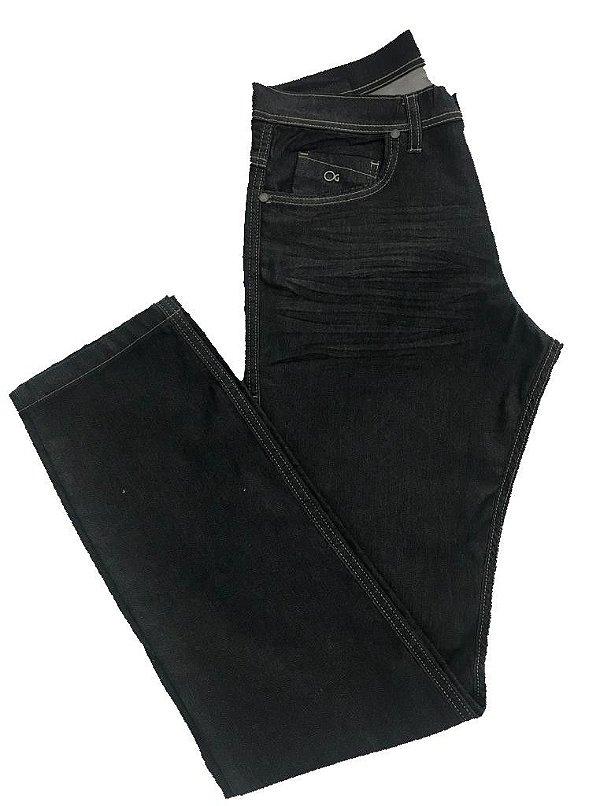 Calça Jeans Ogochi Cult Slim Com Frisado