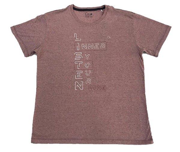 Camiseta Manga Curta Ogochi Slim LISTEN
