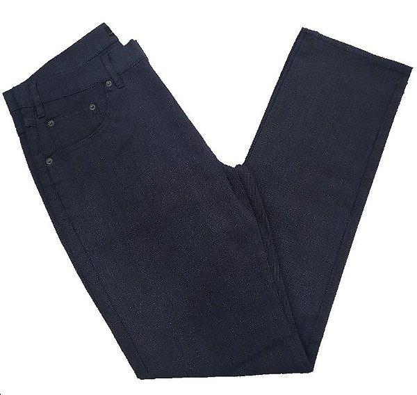 Calça Jeans Detalhada com Viscose Pierre Cardin
