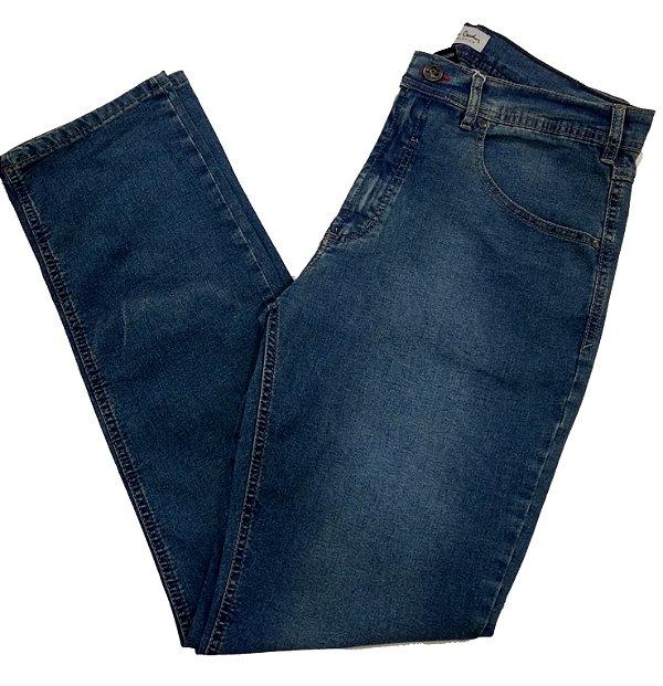 Calça Jeans Pierre Cardin Estonada Tradicional