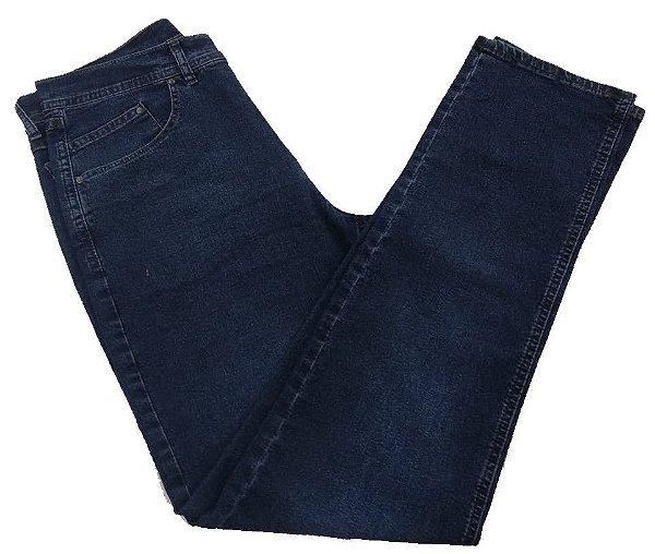 Calça Jeans Pierre Cardin Reta Lixada