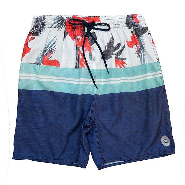 Shorts Praia Masculino WSS Waves Tropical Blue 17