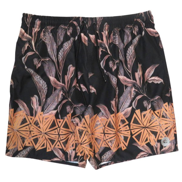 Shorts Praia Masculino WSS Waves Dry Leaf Black 17