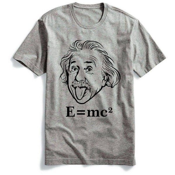 Camiseta Albert Einstein E=me2