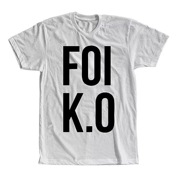 Camiseta Foi K.O