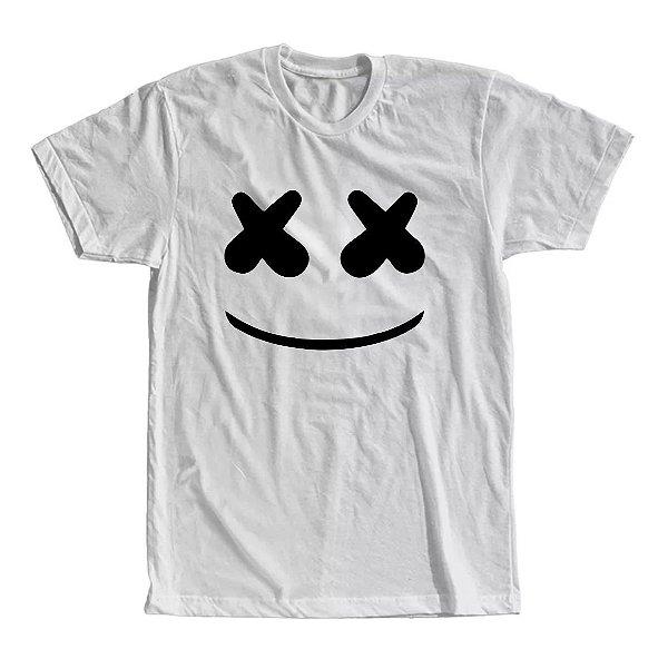 Camiseta Dj Marshmello Face