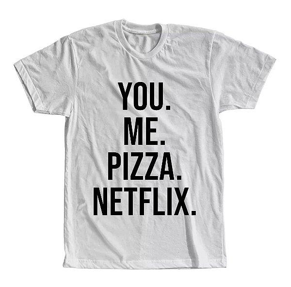 Camiseta You Me Pizza Netflix