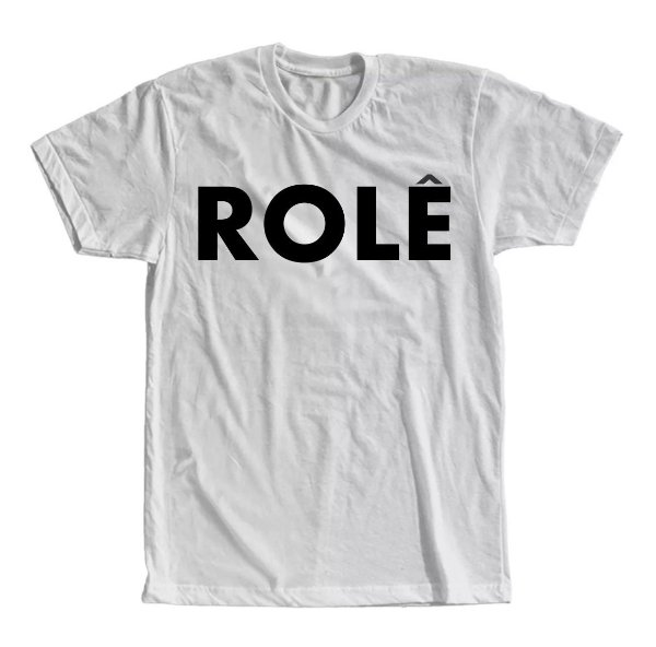 Camiseta Rolê