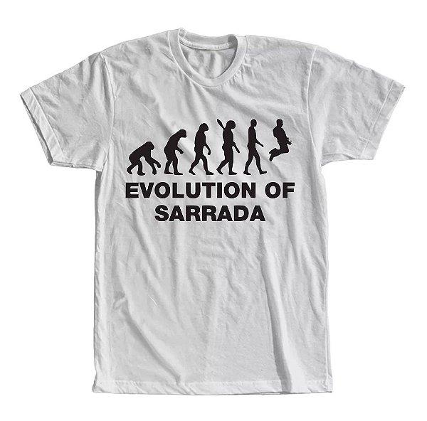 Camiseta Evolução Of Sarrada