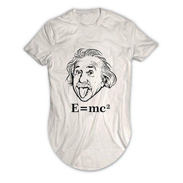 Camiseta Longline Albert Einstein E=mc2