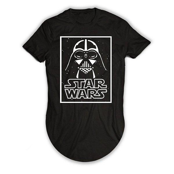 Camiseta Longline Darth Vader Star Wars