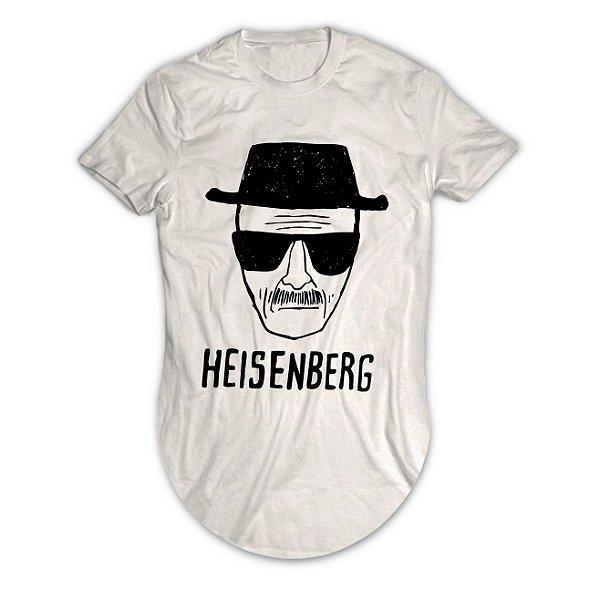Camiseta Longline Heisenberg Breaking Bad