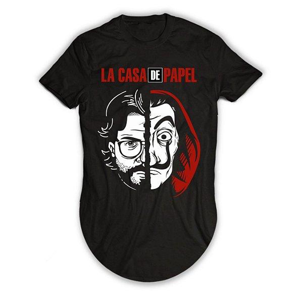 Camiseta Longline La Casa de Papel