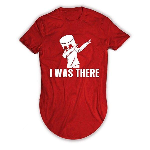 Camiseta Longline Dj Marshmello I Was Here
