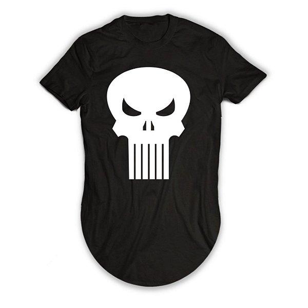 Camiseta Longline O Justiceiro Diablo