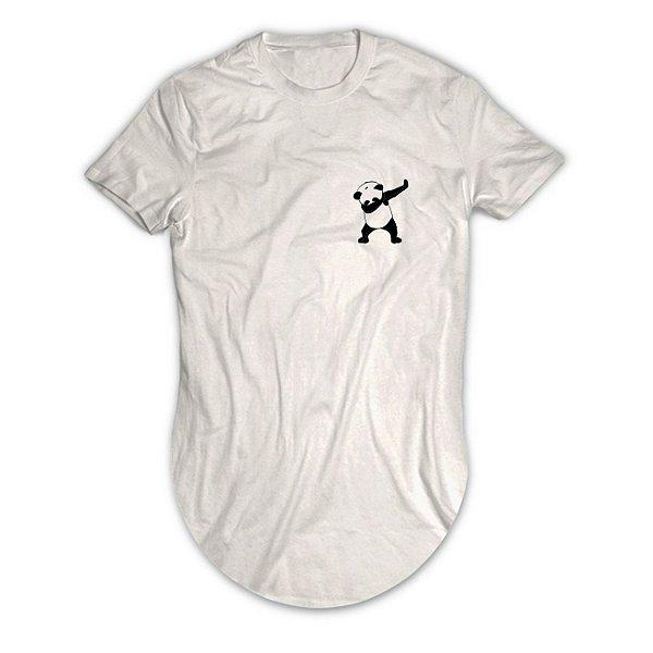 Camiseta Longline Panda Swag Tumblr