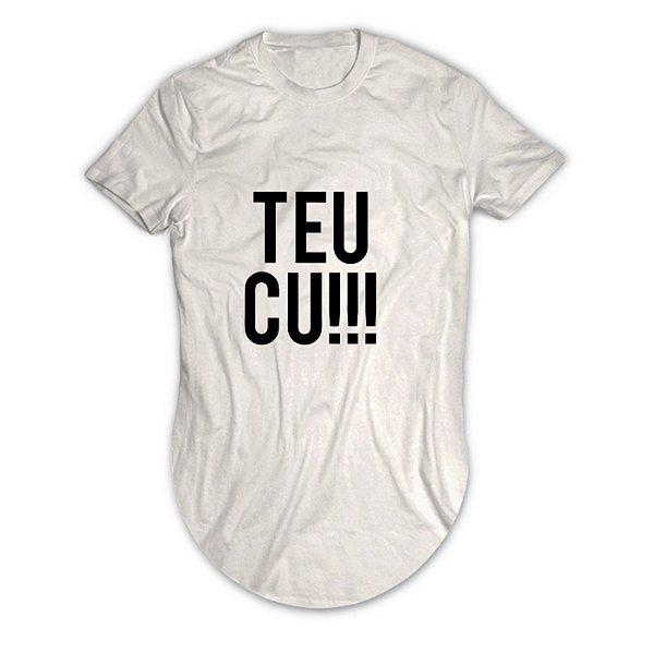 Camiseta Longline Teu Cu!!!