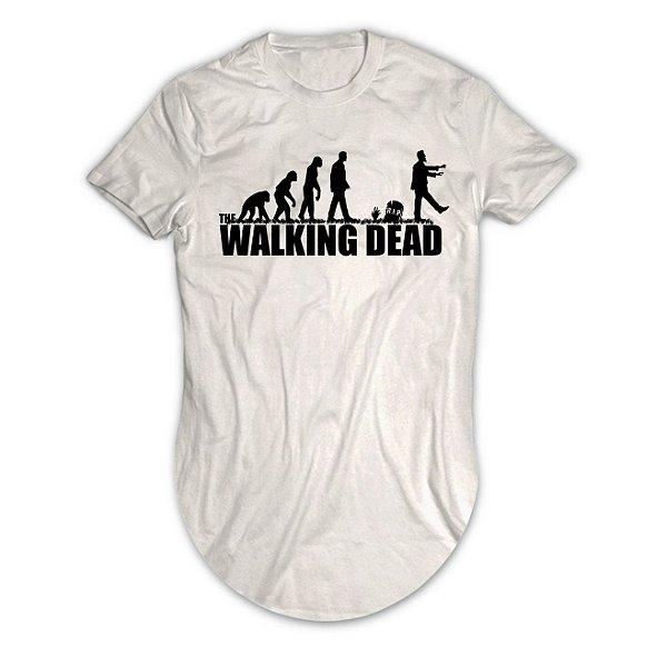 Camiseta Longline The Walking Dead Evolução