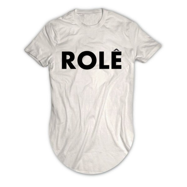 Camiseta Longline Rolê