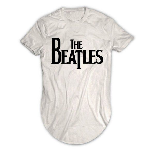 Camiseta Longline The Beatles