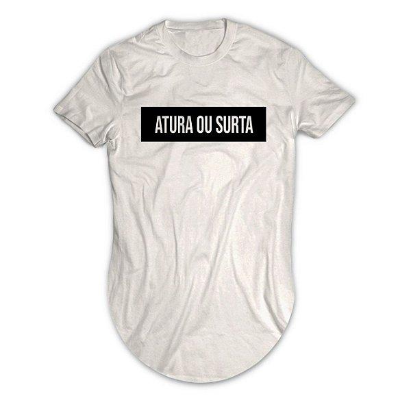 Camiseta Longline Atura ou Surta