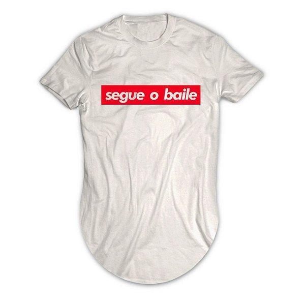 Camiseta Longline Segue o Baile