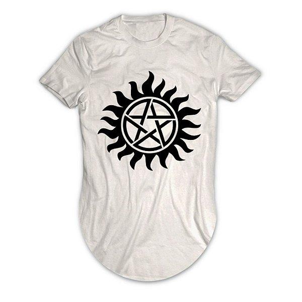 Camiseta Longline Supernatural