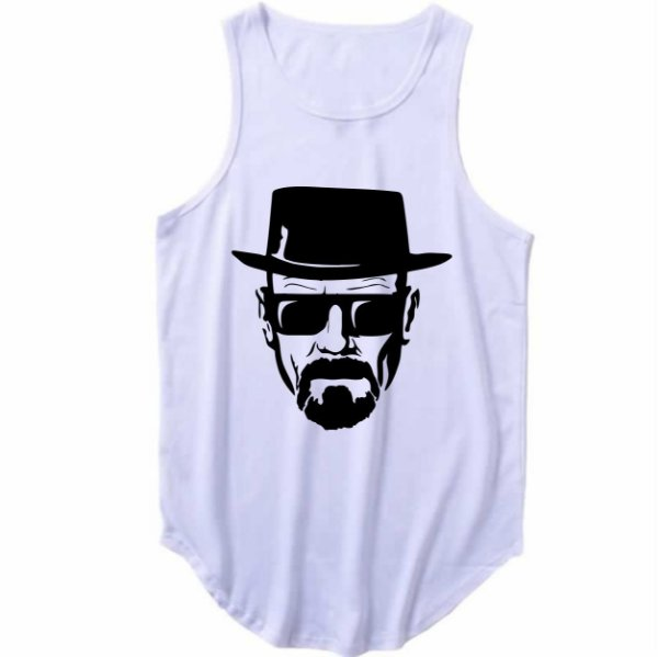 Regata Longline Walter White Breaking Bad