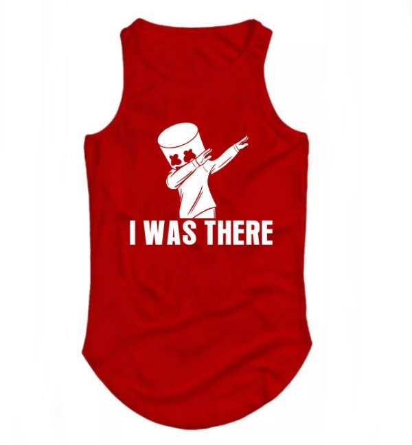 Regata Longline Dj Marshmello I Was Here