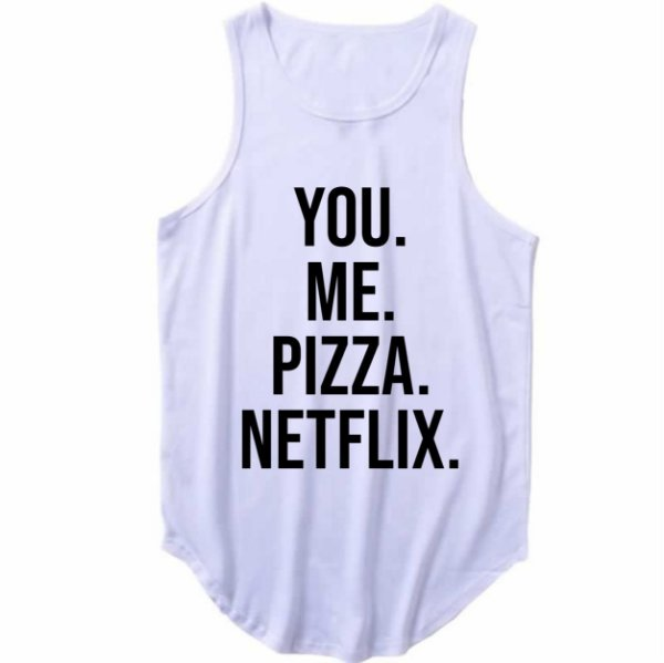 Regata Longline You Me Pizza Netflix