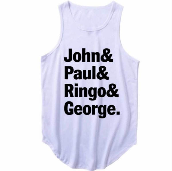 Regata Longline The Beatles John, Paul, Ringo e George