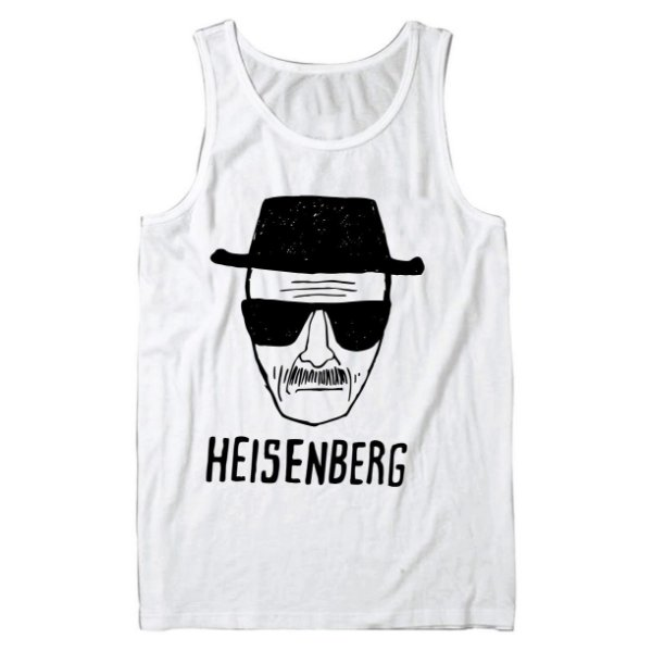 Regata Masculina Heisenberg Breaking Bad