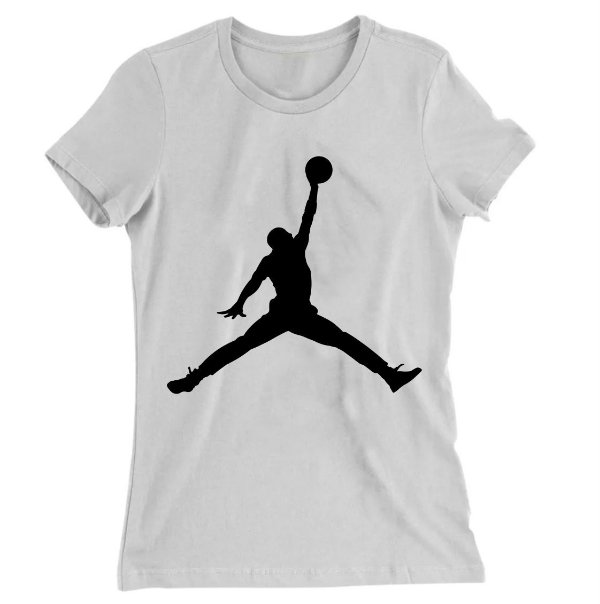 Camiseta Baby Look Air Jordan