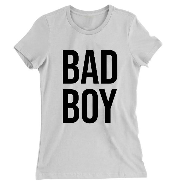 Camiseta Baby Look Bad Boy