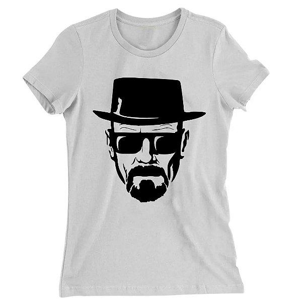 Camiseta Baby Look Walter White Breaking Bad