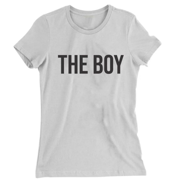 Camiseta Baby Look The Boy