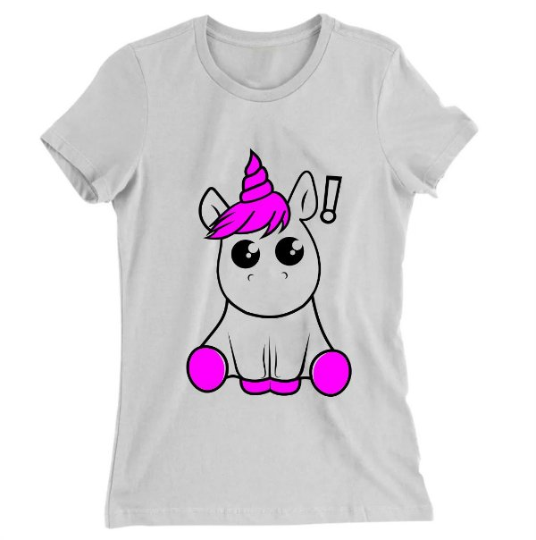 Camiseta Baby Look Unicórnio