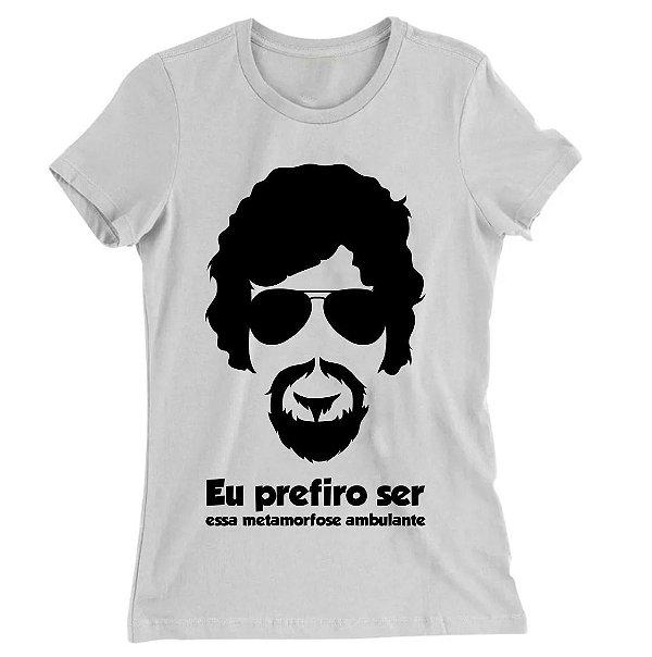 Camiseta Baby Look Raul Seixas