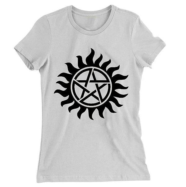 Camiseta Baby Look Supernatural