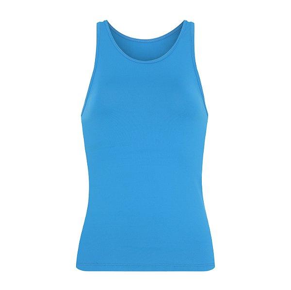 Regata Amanda em lycra biodegradável  azul