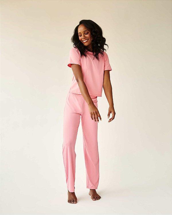 Pijama Bia chiclete