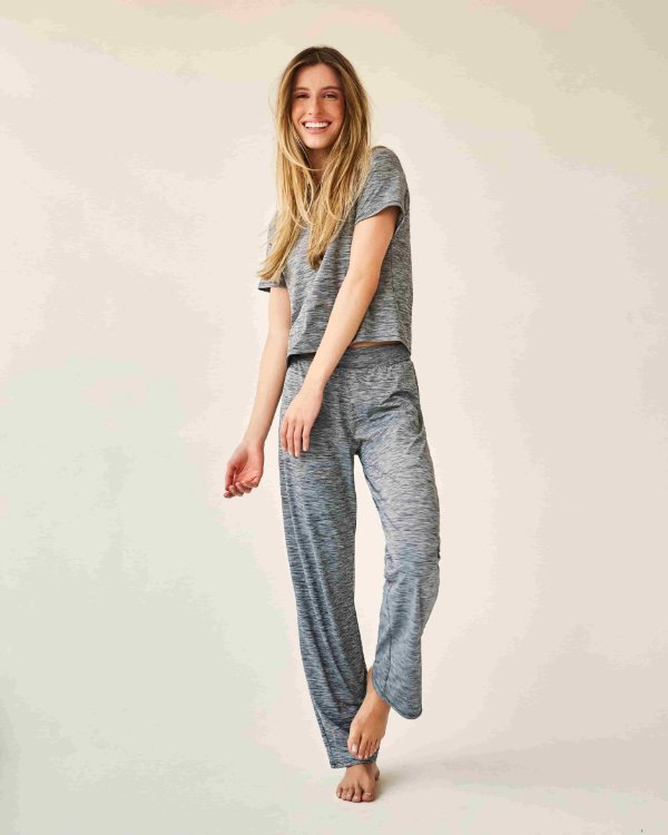 Pijama Bia mescla cinza