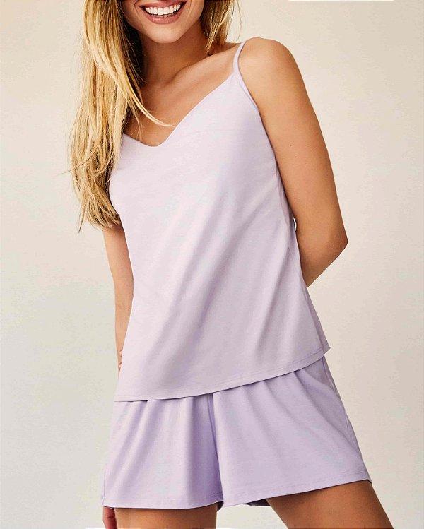 Pijama Kiki lilás