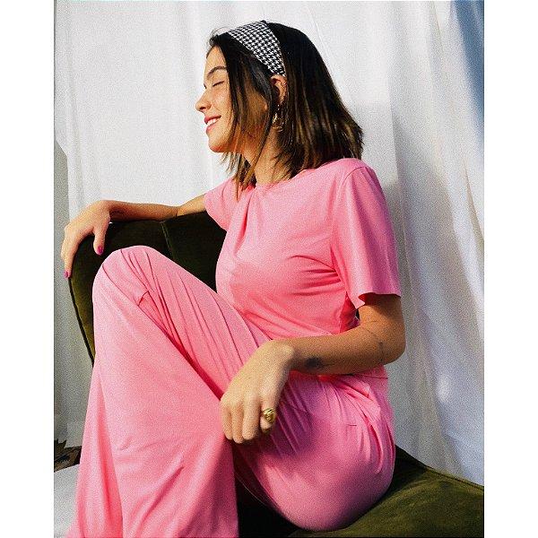 Conjunto Pijama Bia Rosa